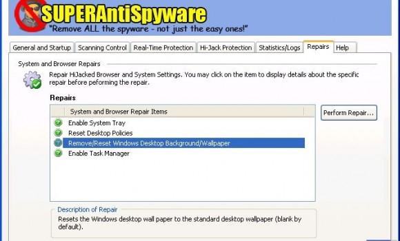 SUPERAntiSpyware Professional Ekran Görüntüleri - 1
