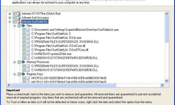 SUPERAntiSpyware Free Edition Ekran Görüntüleri - 2