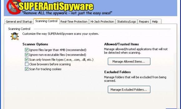 SUPERAntiSpyware Professional Ekran Görüntüleri - 2