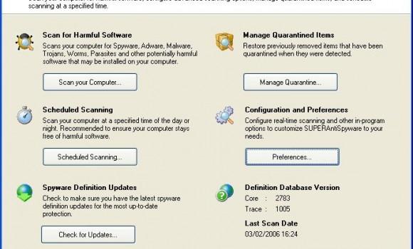 SUPERAntiSpyware Free Edition Ekran Görüntüleri - 3