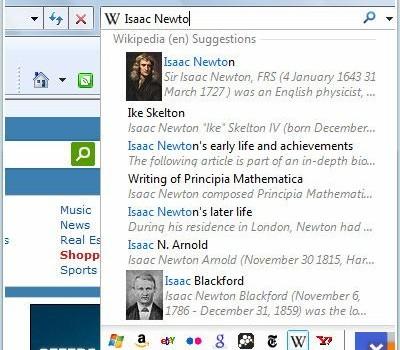 Internet Explorer 8 (XP) Ekran Görüntüleri - 1