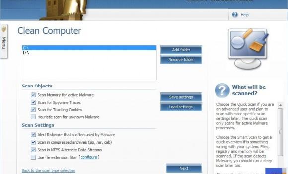 Emsisoft Anti-Malware Ekran Görüntüleri - 1