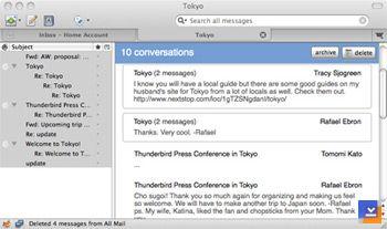 Mozilla Thunderbird (Linux) Ekran Görüntüleri - 2