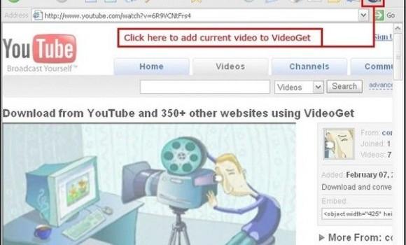 VideoGet Ekran Görüntüleri - 1