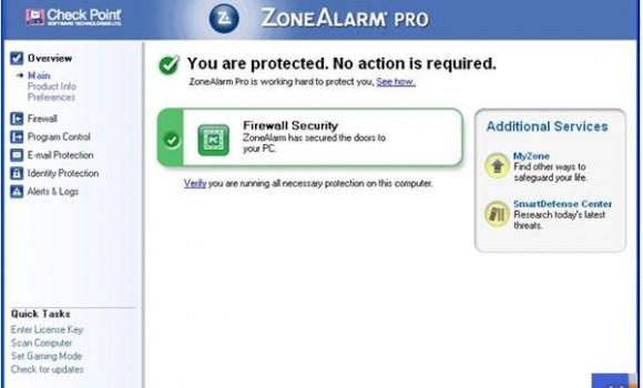 ZoneAlarm Pro Firewall Ekran Görüntüleri - 3
