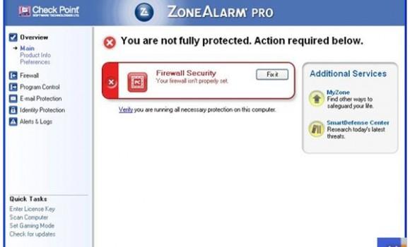 ZoneAlarm Pro Firewall Ekran Görüntüleri - 2