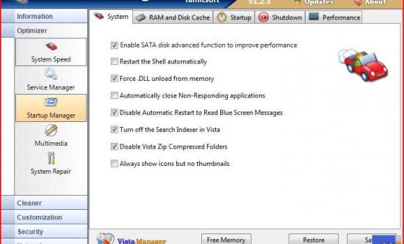 Vista Manager Ekran Görüntüleri - 1