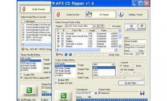 MP3 CD Ripper 2.5 Ekran Görüntüleri - 1