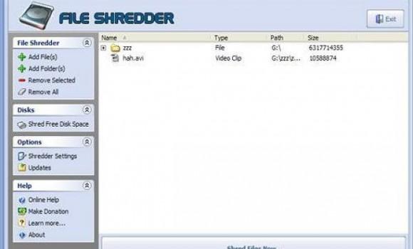 File Shredder Ekran Görüntüleri - 1