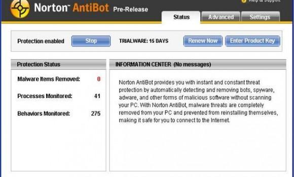 Norton AntiBot Ekran Görüntüleri - 2