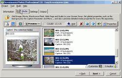 ScreenSaverMaker v2.3 Ekran Görüntüleri - 1