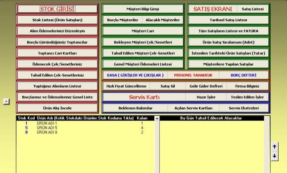 2007 Stok Yönetim & Teknik Servis Ekran Görüntüleri - 1
