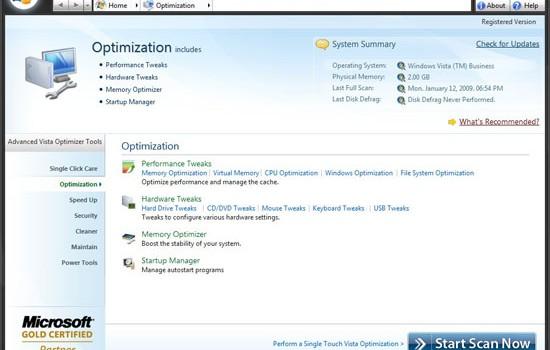Advanced Vista Optimizer Ekran Görüntüleri - 2