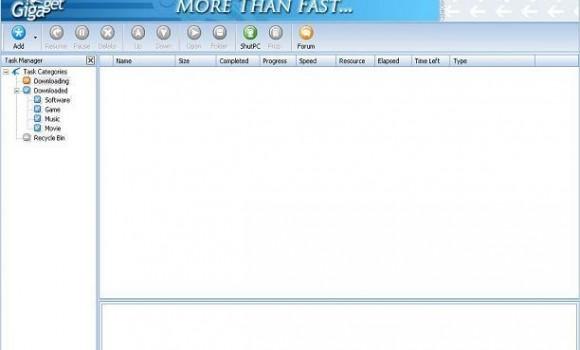 GigaGet Ekran Görüntüleri - 2