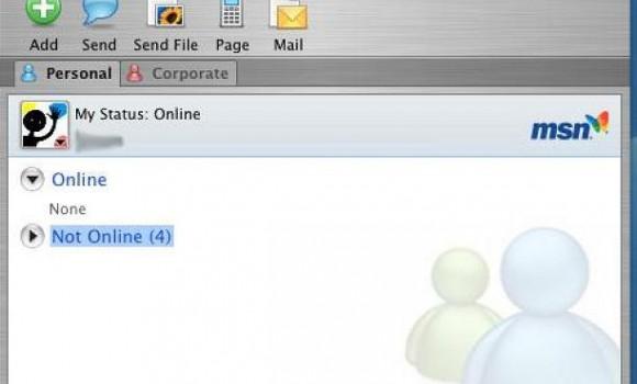 Microsoft Messenger for Mac Ekran Görüntüleri - 2