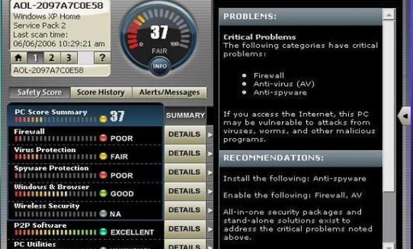 AOL Active Security Monitor Ekran Görüntüleri - 2