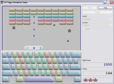 10 Finger Breakout 7.0 Ekran Görüntüleri - 1