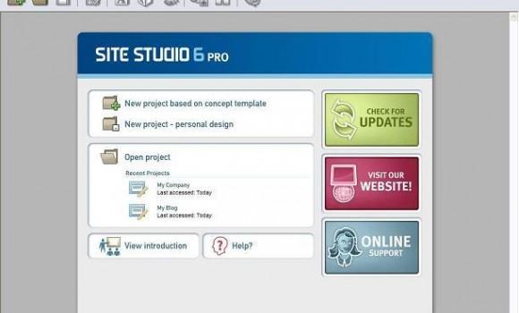 Site Studio 6 Home Ekran Görüntüleri - 1