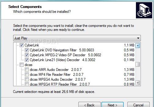 ACE Mega Codecs Pack Ekran Görüntüleri - 3