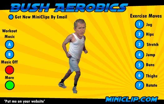 Bush Aerobics Ekran Görüntüleri - 1