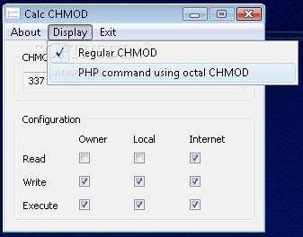 Calc CHMOD Ekran Görüntüleri - 1