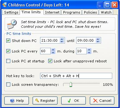 Children Control 1.7 Ekran Görüntüleri - 2