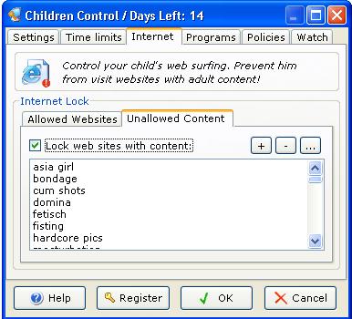 Children Control 1.7 Ekran Görüntüleri - 3