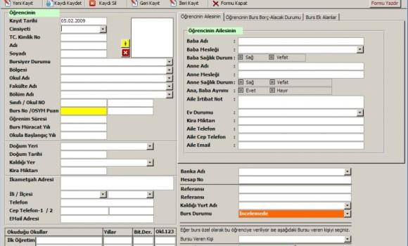 Dernek Yönetim Sistemi Ekran Görüntüleri - 1