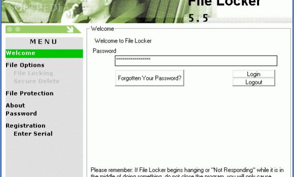 File Locker 5.5 Ekran Görüntüleri - 1