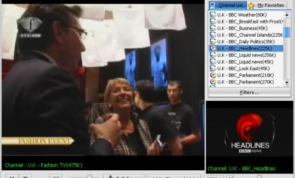 Free Internet TV 6.3 Ekran Görüntüleri - 1