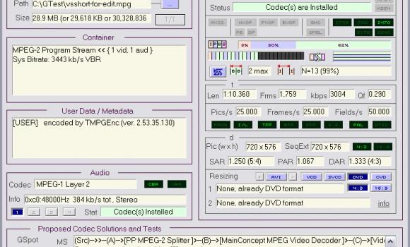GSpot v2.60 RC01 Ekran Görüntüleri - 1