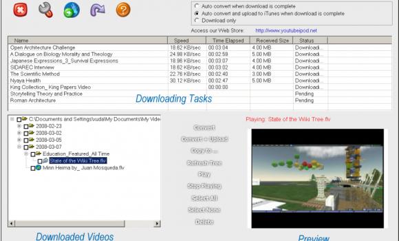 YouTube2iPod Ekran Görüntüleri - 1