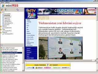miniRSS Ekran Görüntüleri - 1