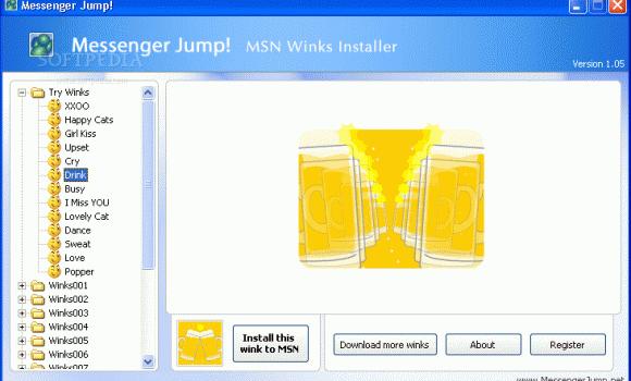 Messenger Jump MSN Winks Installer Ekran Görüntüleri - 2
