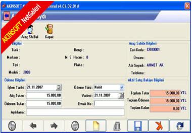 AKINSOFT NetGaleri Ekran Görüntüleri - 5
