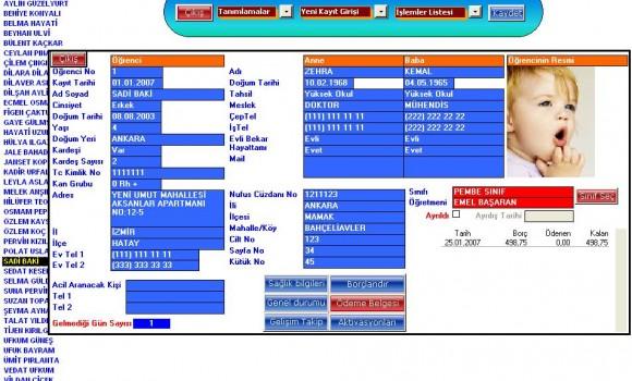 Anaokulu ve Kreş Yönetimi Ekran Görüntüleri - 1