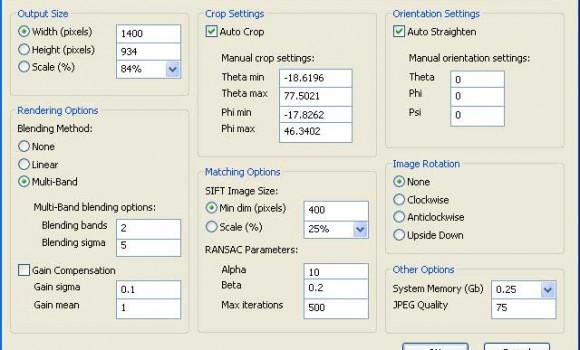 AutoStitch Ekran Görüntüleri - 1