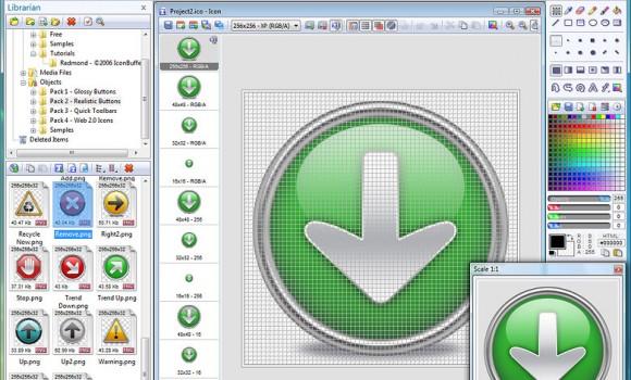 Axialis IconWorkshop Ekran Görüntüleri - 2