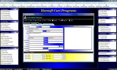 Hursoft Cari Programı Ekran Görüntüleri - 1