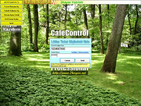 CafeControl 5.0 Professional Demo Ekran Görüntüleri - 3