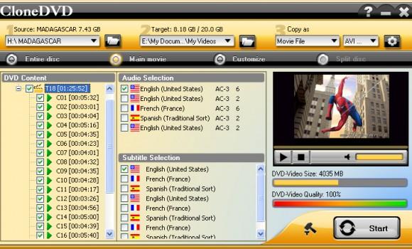CloneDVD Ekran Görüntüleri - 2