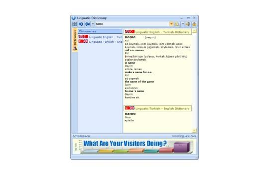 Linguatic Sözlük Ekran Görüntüleri - 1
