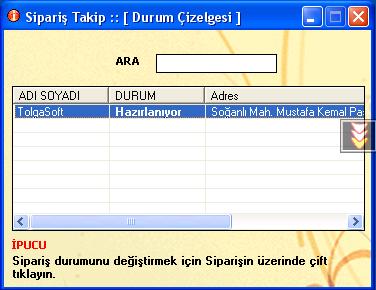 Halı Yıkama Programı(CallerID) Ekran Görüntüleri - 1