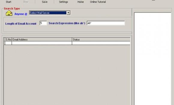 E-mail Generator Ekran Görüntüleri - 1