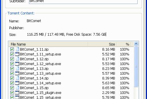 BitComet Ekran Görüntüleri - 2