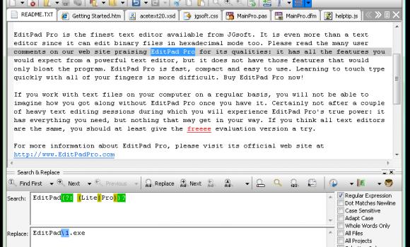 EditPad Pro Ekran Görüntüleri - 1