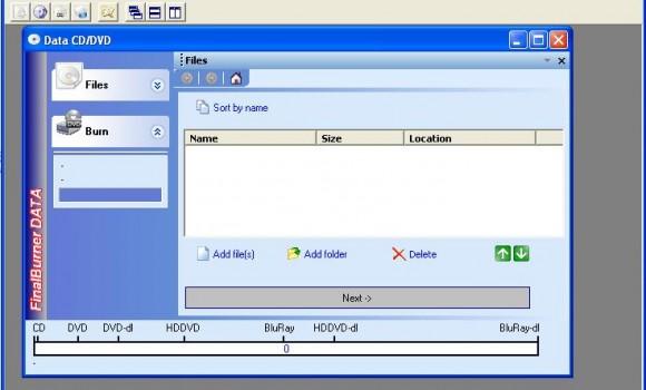 FinalBurner Free Ekran Görüntüleri - 1