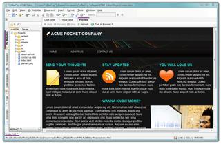 CoffeeCup Free HTML Editor Ekran Görüntüleri - 1