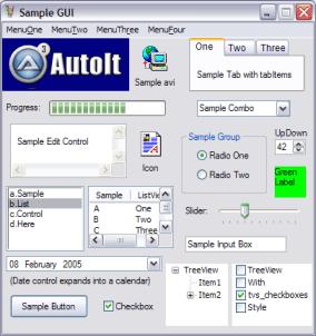 AutoIt Ekran Görüntüleri - 2