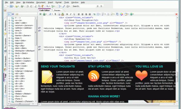 CoffeeCup The HTML Editor Ekran Görüntüleri - 1